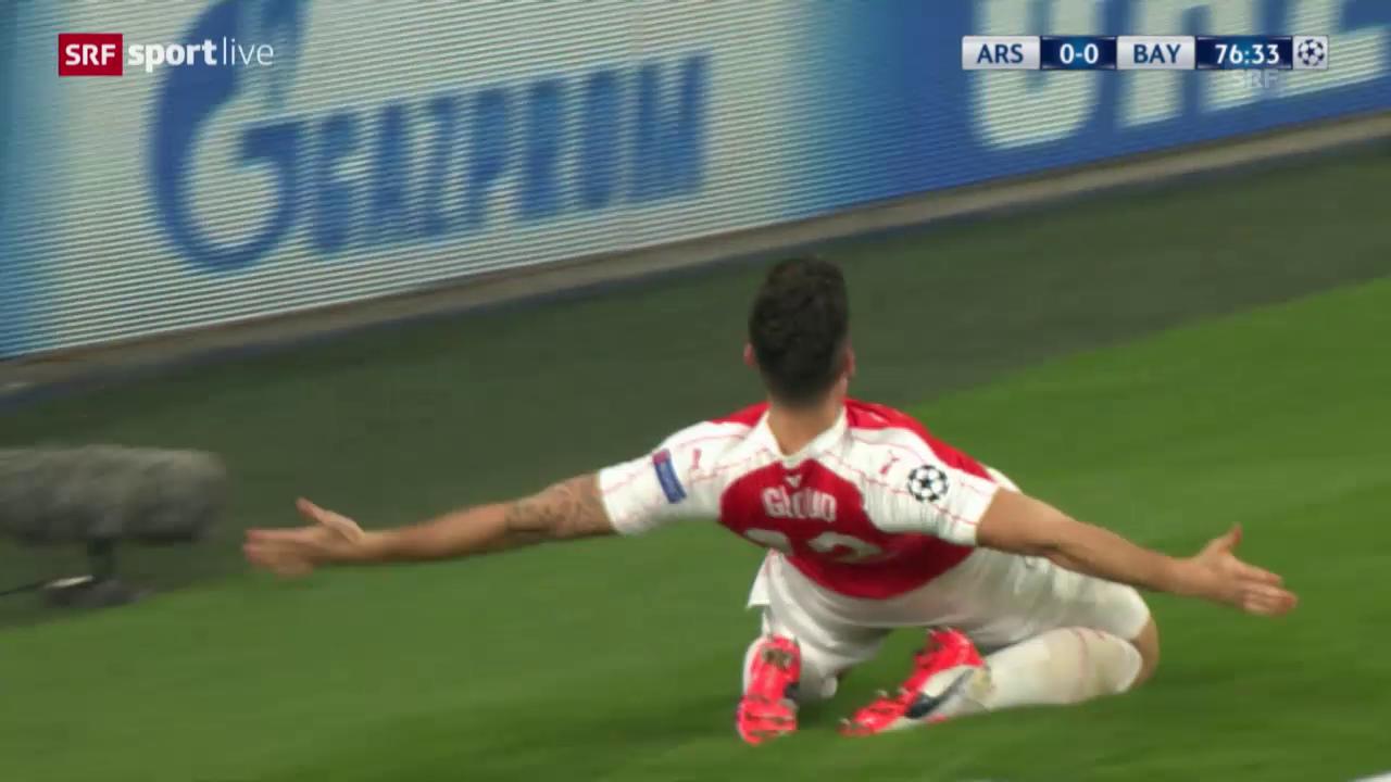 Fussball: CL, Arsenal - Bayern