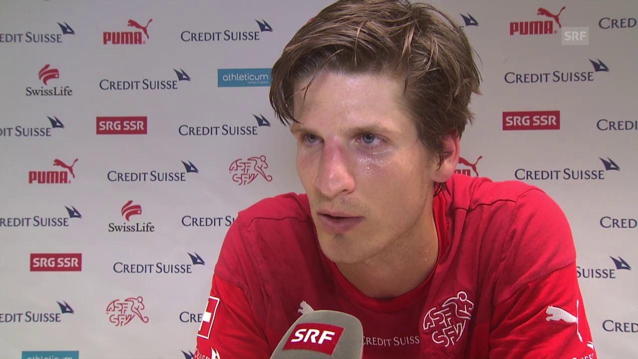 Fussball: Timm Klose im Interview (Leidenszeit in Wolfsburg)
