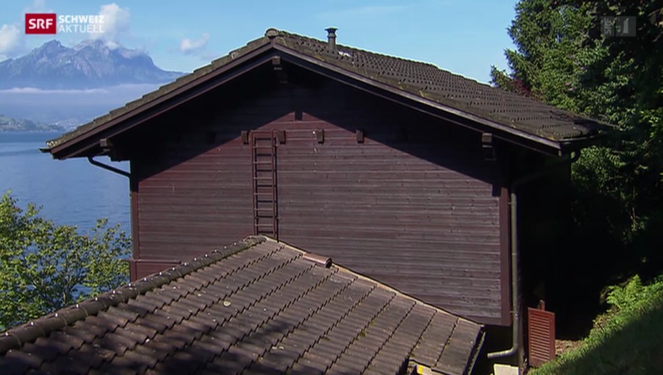Häuserräumung wegen Steinschlaggefahr