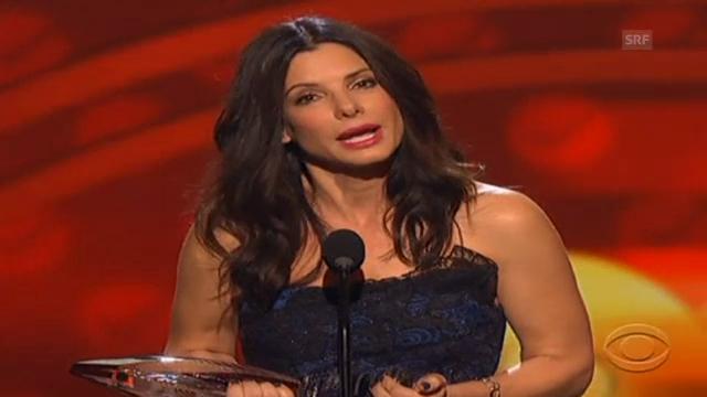 Dankesreden von den «People's Choice Awards»