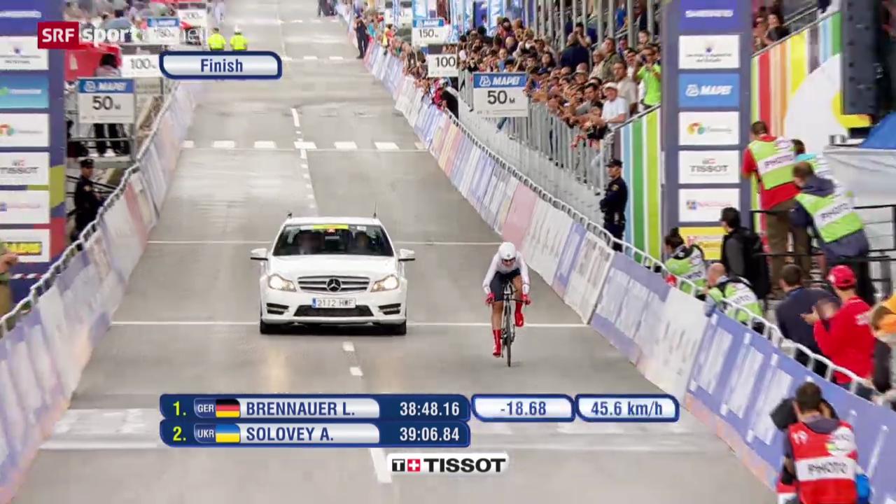 Rad: WM 2014, Zeitfahren Frauen