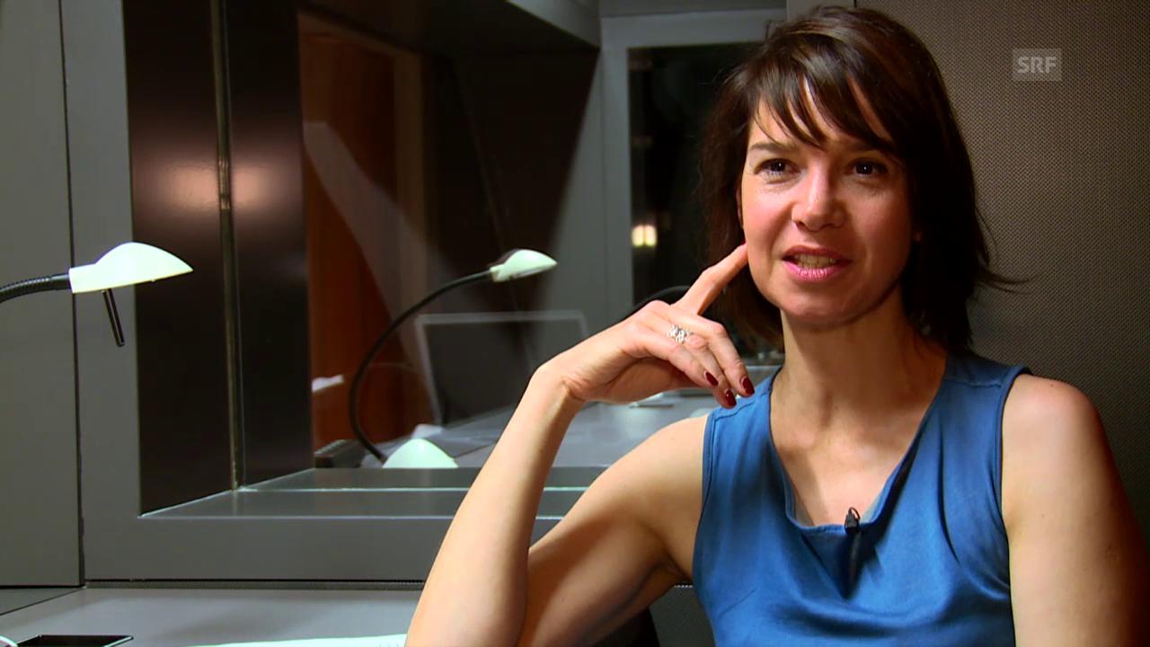Annelis Berger im KKL über einen ganz besonderen Moment