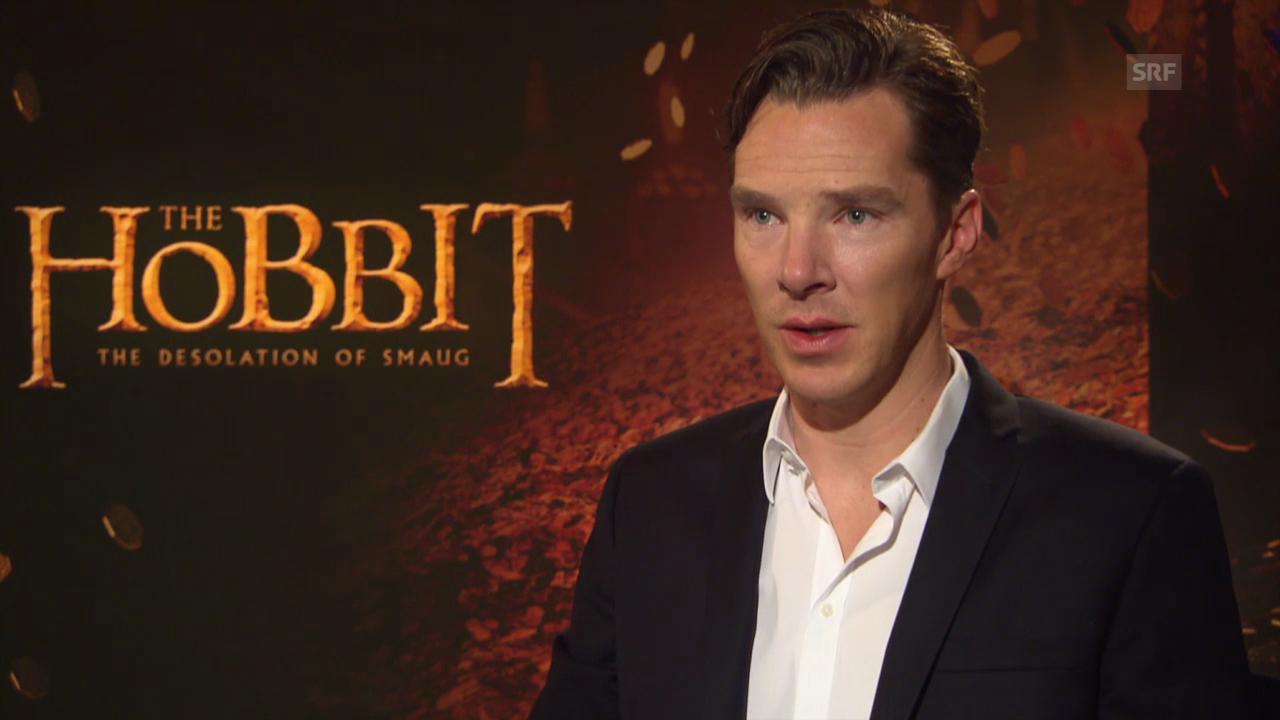 Benedict Cumberbatch als Drache Smaug