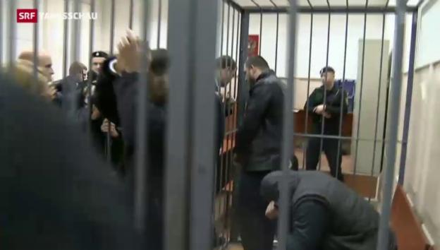 Video «Mordfall Nemzov: Verdächtiger soll geständig sein» abspielen