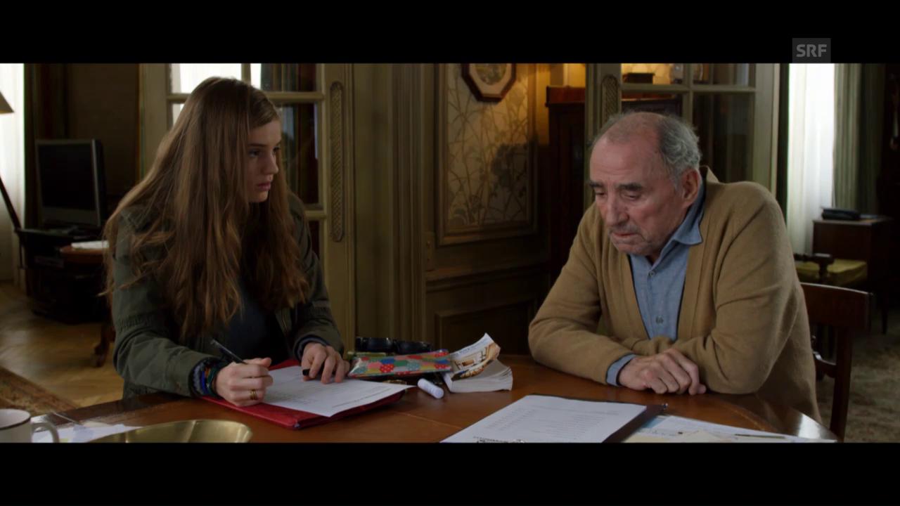 Trailer zu «L'étudiante et Monsieur Henri»