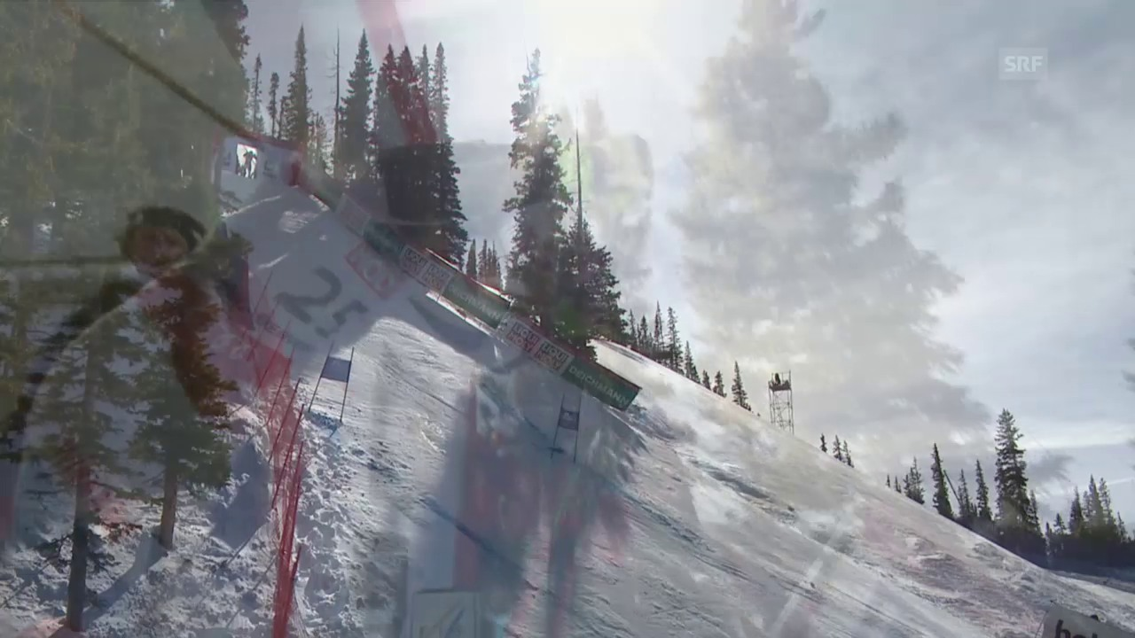 Ski: WM 2015 Vail/Beaver Creek, Super-G Männer, die Fahrt von Caviezel