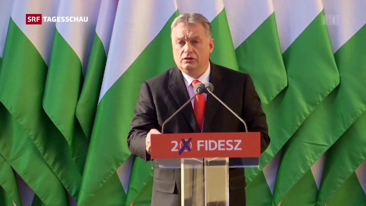 Siegessicherer Orban
