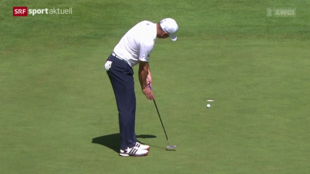 Video «Golf: European Masters in Crans-Montana, 1. Tag» abspielen