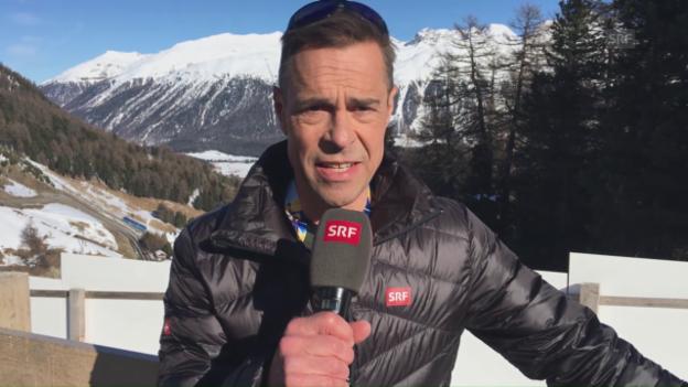 Video «Das war das WM-Highlight von Matthias Hüppi» abspielen