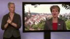 Video «Ansprache zum 1. August 2015 in Gebärdensprache» abspielen