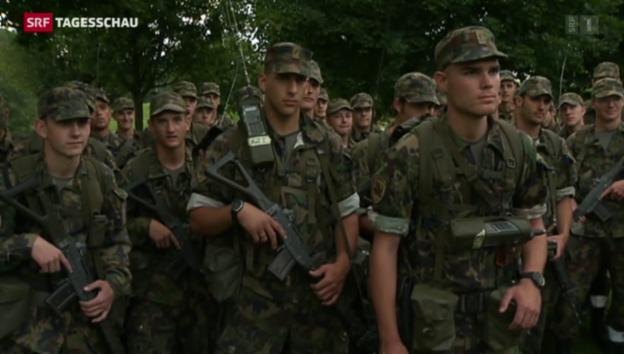 Video «Ständeratskommission will Armeereform» abspielen