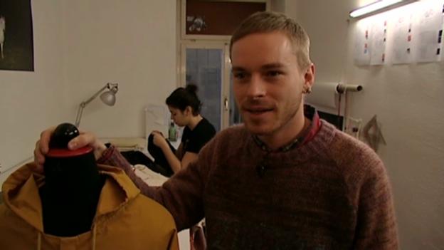 Video «Julian Zigerli: Schneidern in unkreativem Ambiente» abspielen