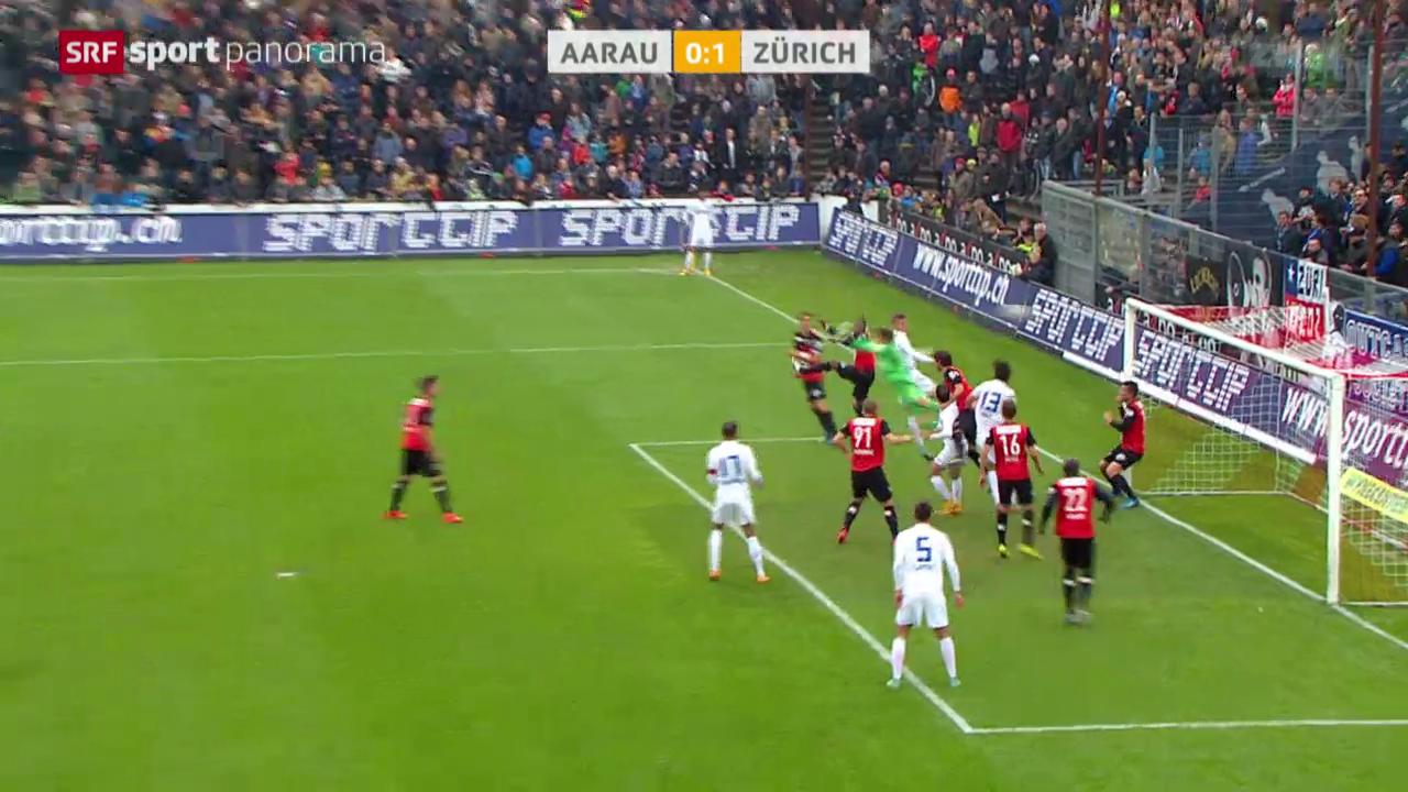 Fussball: Aarau - FC Zürich
