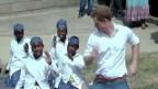 Video «Prinz Harry: In Lesotho für den guten Zweck» abspielen