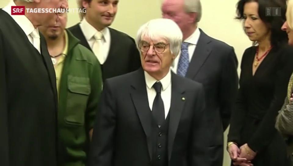 Bernie Ecclestone vor Gericht