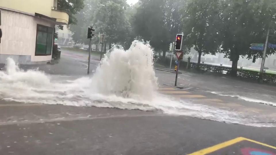 25. Juli: Überschwemmungen in Luzern, Christian Zurfluh