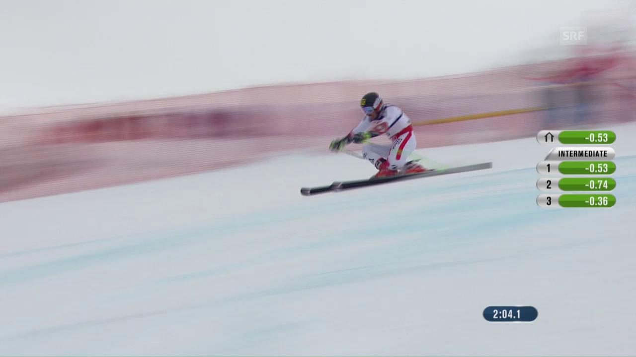 Cun quest percurs ha Hirscher segirà aur da slalom gigant