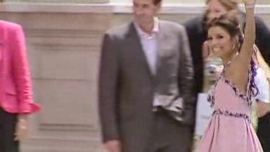 Eva Longoria und ihre Hochzeit mit Tony Parker, 2007