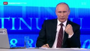 Video «Putin fordert Selbstbestimmungsrecht» abspielen