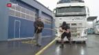 Video «Mit Muskelkraft Lastwagen ziehen» abspielen