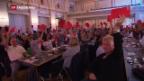 Video «SP-Delegierte für AHV-Steuerdeal» abspielen