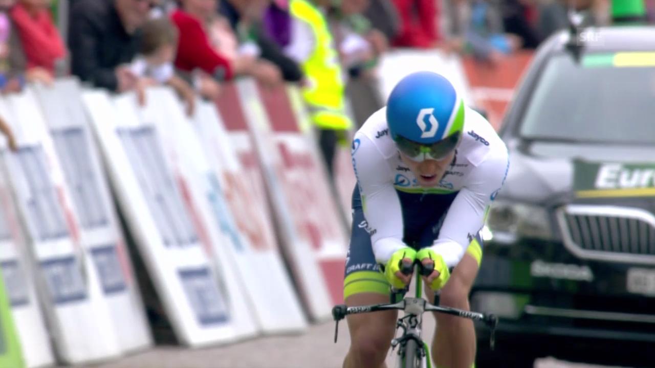Rad: Tour der Romandie, Prolog, Start und Zieleinfahrt Nino Schurter