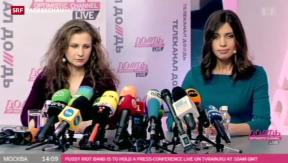 Video «Pussy-Riot-Mitglieder über ihre Zukunftspläne» abspielen
