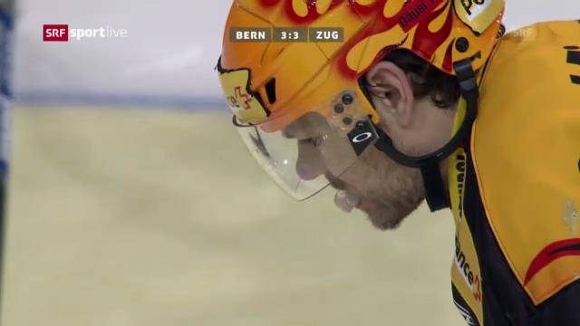 Eishockey: Bern - Zug («sportlive»)