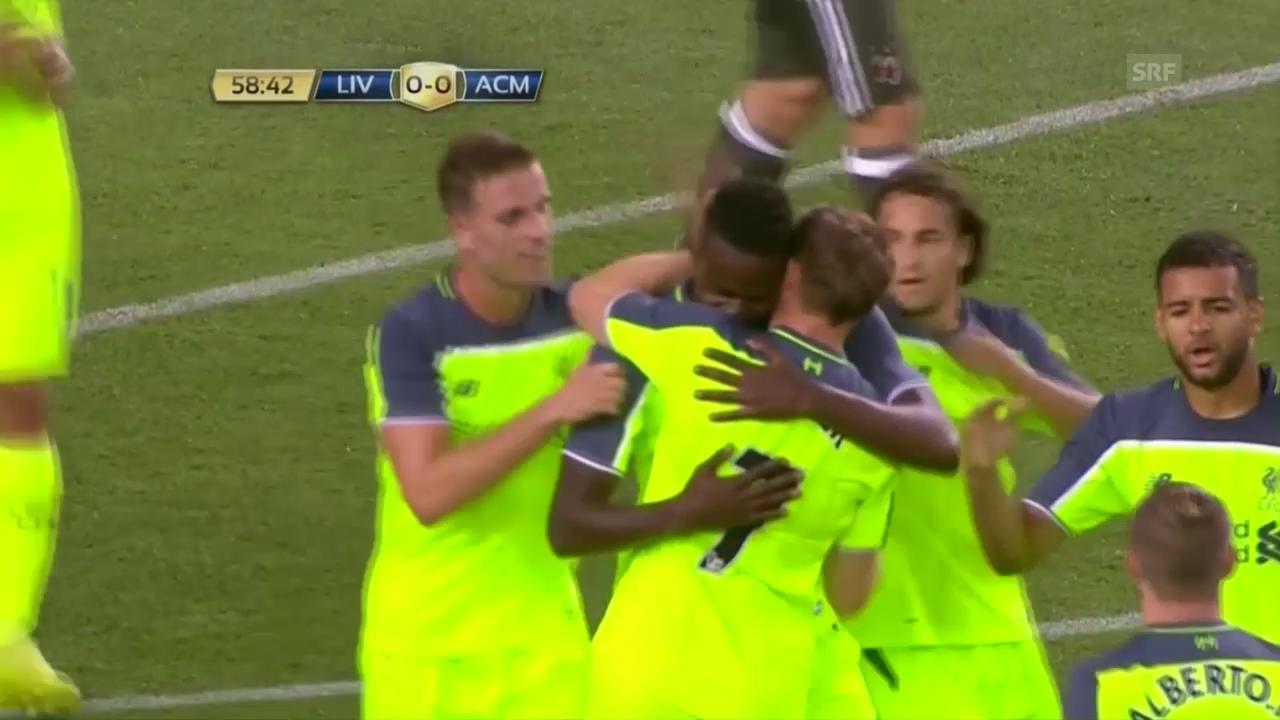 Die Tore bei Liverpool - Milan (SNTV)