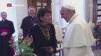 Video «Leuthard in Rom» abspielen