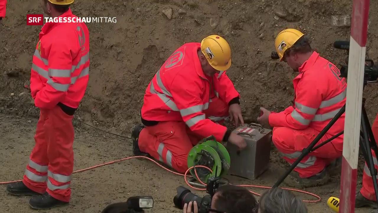Startschuss für dritte Gubrist-Tunnelröhre