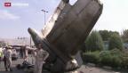 Video «Flugzeugabsturz im Iran» abspielen