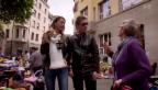 Video «Mr. Da-Nos und Tanja La Croix: DJ-Duell am Flohmarkt» abspielen