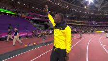 Video «Bolt nimmt Abschied von der Leichtathletik-Bühne» abspielen