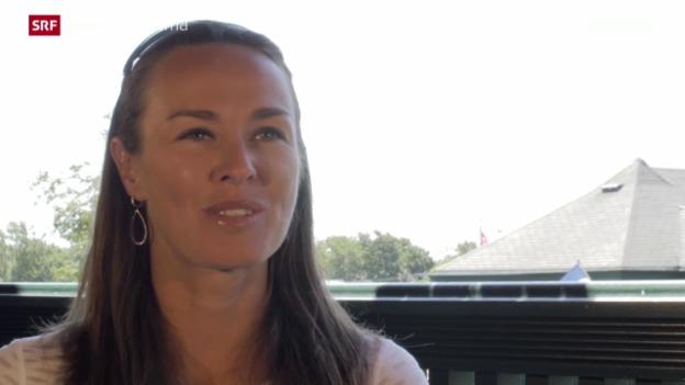 Video «Tennis: Die Rückkehr der Martina Hingis» abspielen