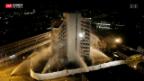 Video «Spektakel bei Sprengung» abspielen