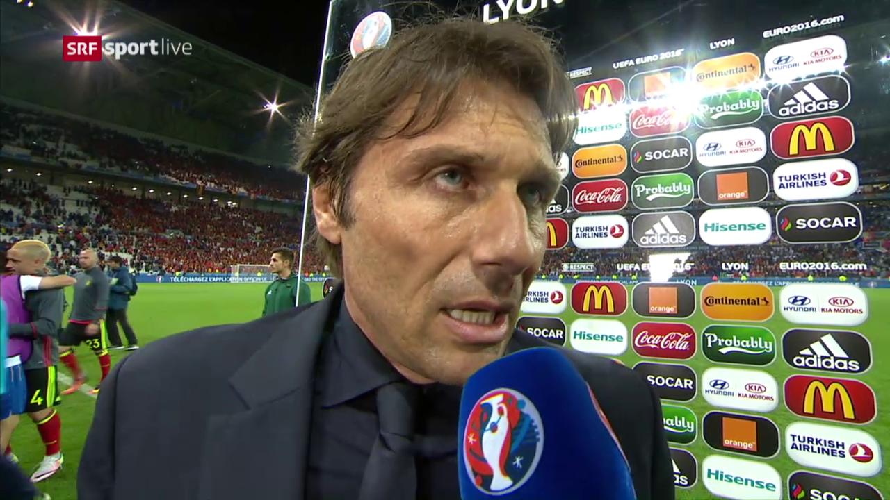 Conte: «Wir haben noch nichts erreicht»
