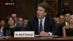 Video «Die Senatoren urteilen über Richter Kavanaugh» abspielen