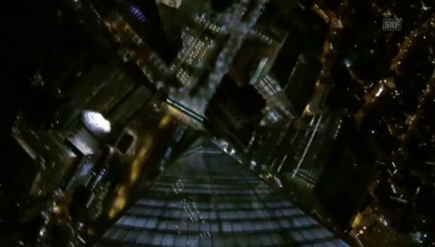 Video «Nichts für Warmduscher: Basejump vom WTC» abspielen