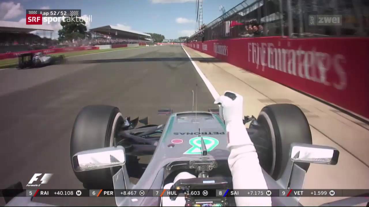 Hamilton in Silverstone unantastbar