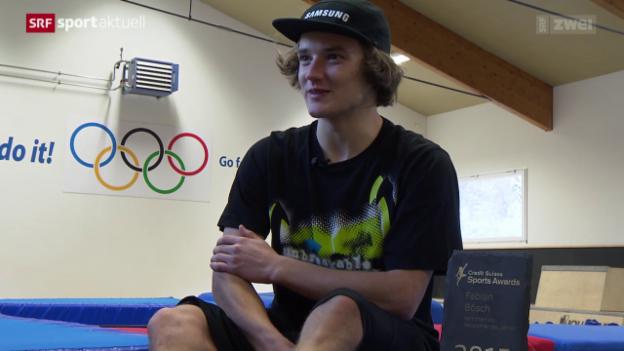 Video ««Sports Awards»: Freestlye-Skier Fabian Bösch» abspielen