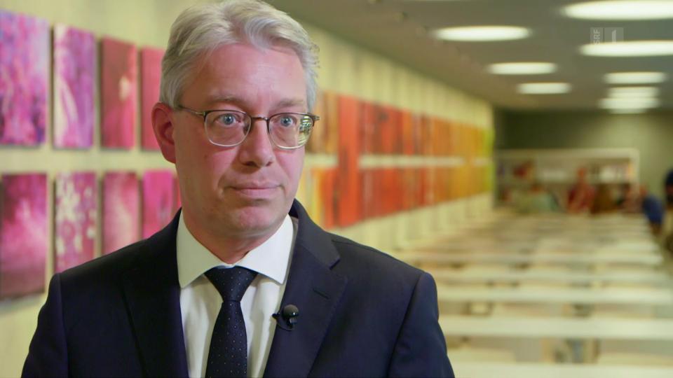 Gregor Lüthy vom Bundesamt für Gesundheit: «Wenn es in den Zusatzleistungen weiter rauf geht, dann wird es für uns schwierig dort einzugreifen.»