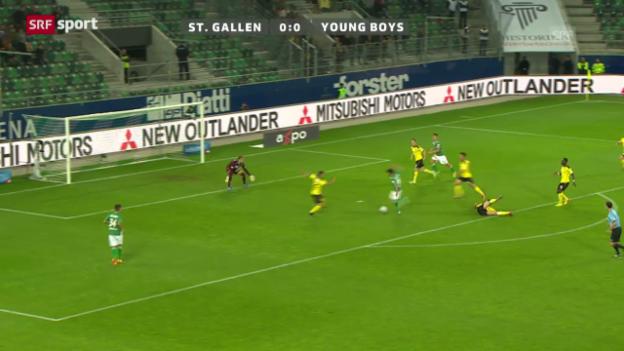 Video «St. Gallen - YB» abspielen