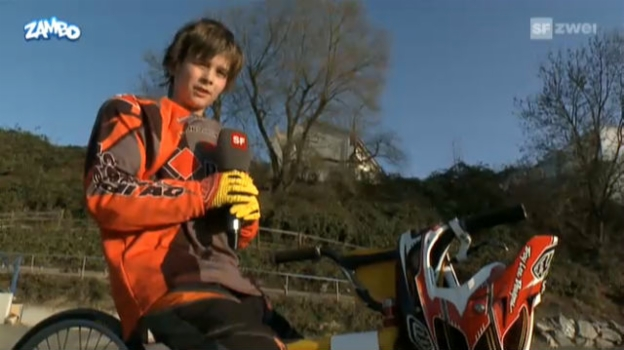 Video «Sergio im BMX-Training» abspielen