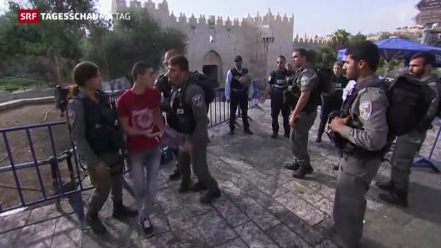 Video «Israel-Palästina-Konflikt: Spannungen nehmen zu» abspielen