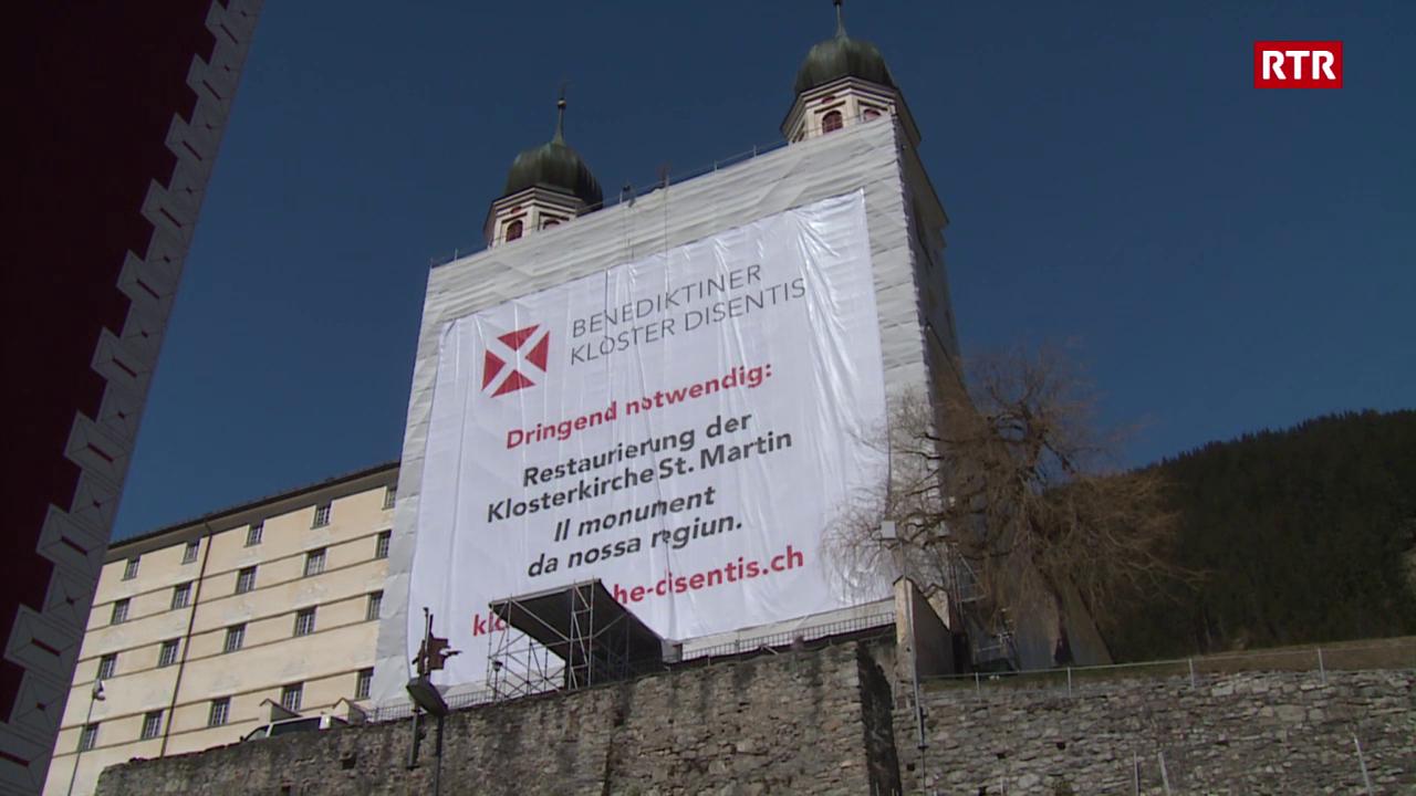 La claustra da Mustér fa attent sin la restauraziun urgenta