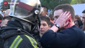 Video «Frankreich übt Antiterror-Einsatz für Fussball-EM» abspielen