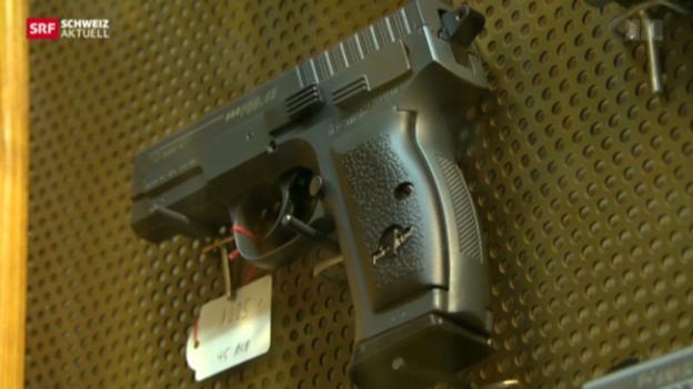 Video «Bewaffnete Walliser Haushalte.» abspielen