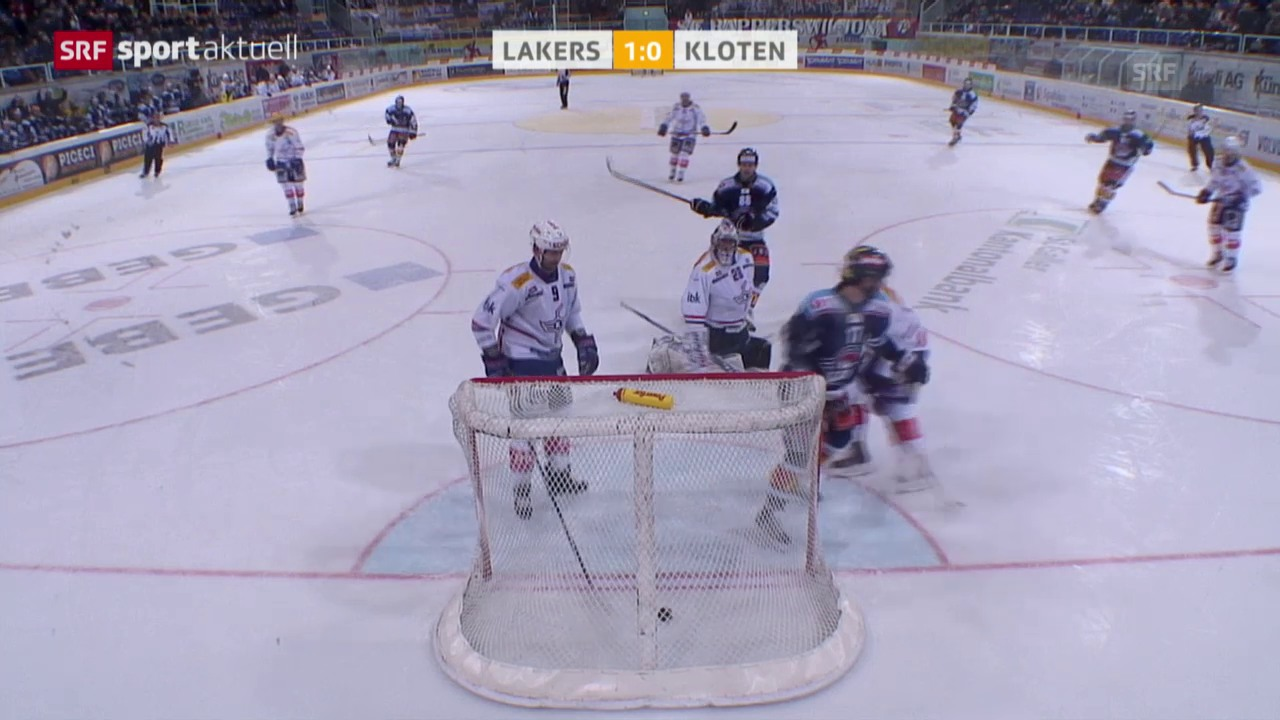 Eishockey: Playouts, Lakers - Kloten