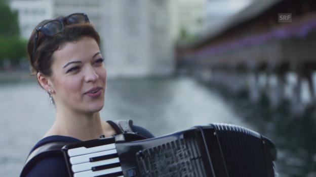 Video «Web-Serie mit Ksenija Sidorova – Teil I: Strassenkunst» abspielen